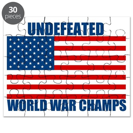 Undefeated World War Champs Puzzle
