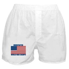 Undefeated World War Champs Boxer Shorts