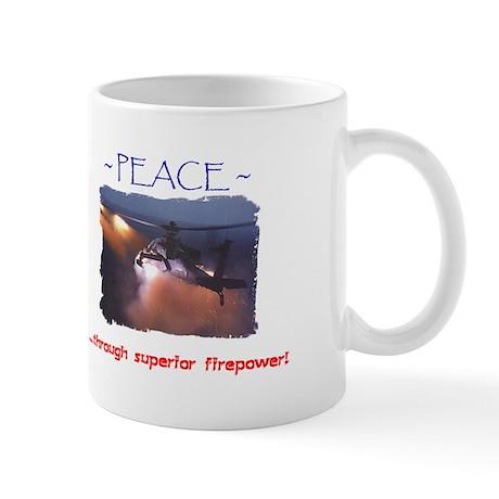 FirepowerApache1Mug Mugs