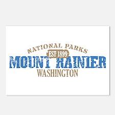 Mount Rainier National Park W Postcards (Package o