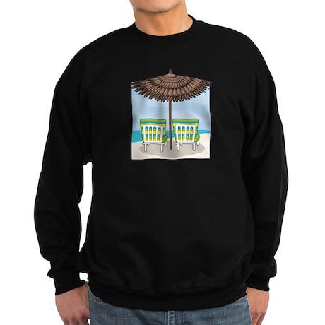 Beach Chairs Sweatshirt (dark)