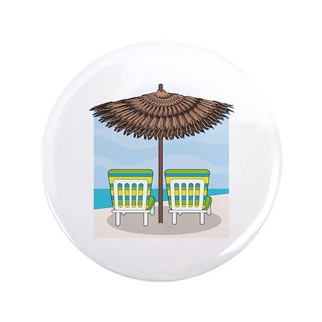 """Beach Chairs 3.5"""" Button (100 pack)"""