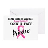 Breast cancer survivor Greeting Cards