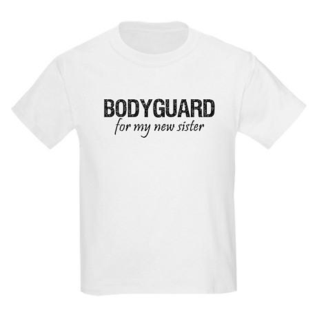 Bodyguard for my sister Kids Light T-Shirt