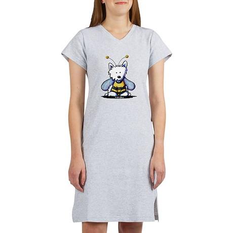 Buzzy Bee Westie Women's Nightshirt