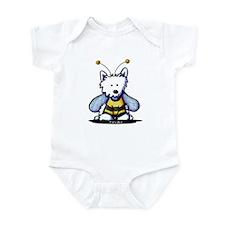Buzzy Bee Westie Infant Bodysuit