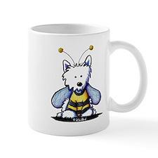 Buzzy Bee Westie Mug