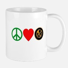 Peace Love HungerGames Mug