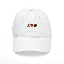 Peace Love HungerGames Baseball Cap