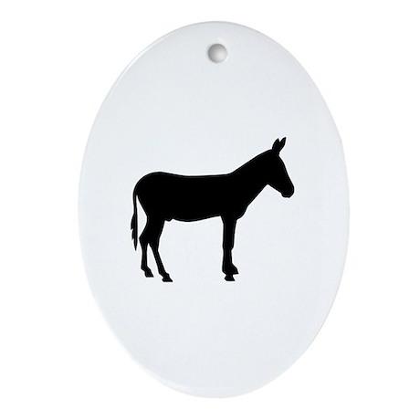 Donkey Ornament (Oval)