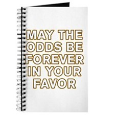 May the Odds be Forever in Your Favor Journal