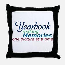 Yearbook Making Memories Throw Pillow