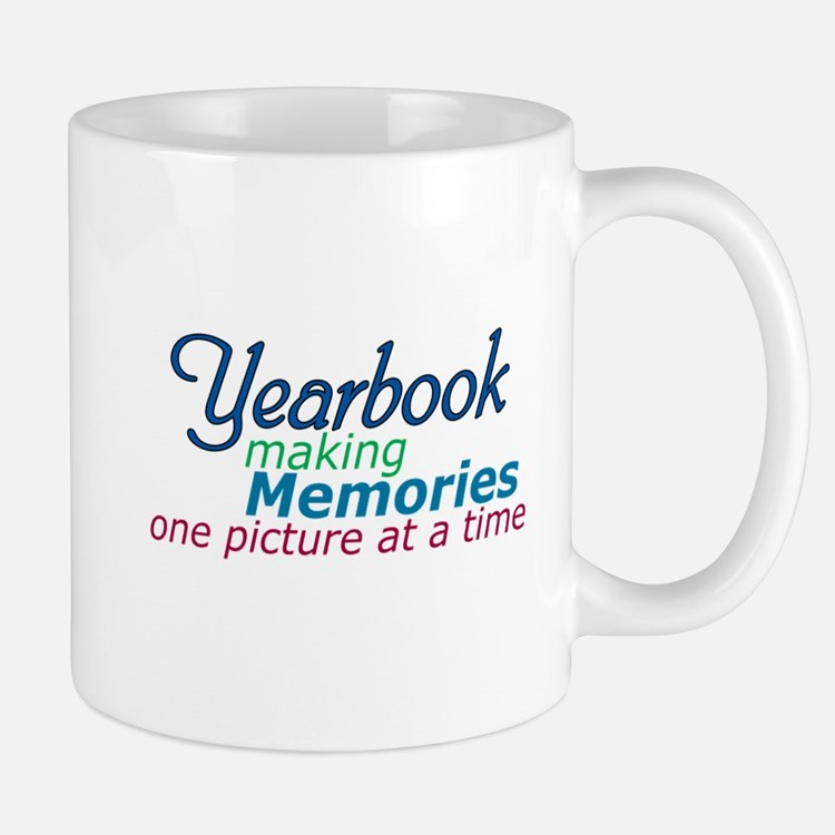 Yearbook Making Memories Mug