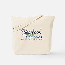 Yearbook Making Memories Tote Bag