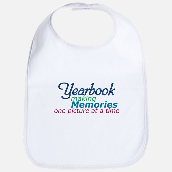 Yearbook Making Memories Bib