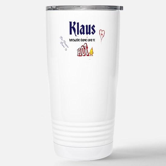 KLAUS Hot Stainless Steel Travel Mug