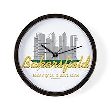 Bakersfield Stinks Wall Clock