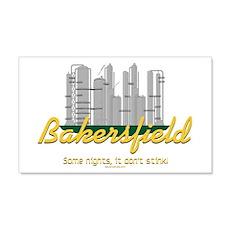 Bakersfield Stinks 22x14 Wall Peel