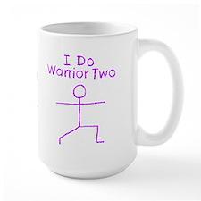 Purple Warrior Two Mug