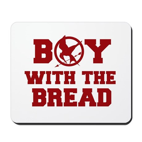 Boy with the Bread Mousepad