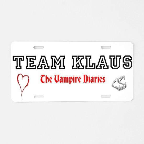 Team KLAUS License Plate