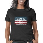 Bigfoot for President Women's V-Neck T-Shirt