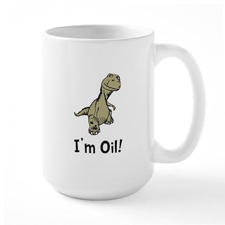Dino Oil Large Mug