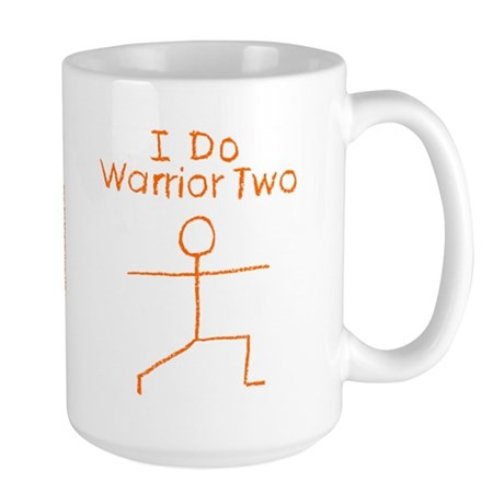 Orange Warrior Two Large Mug