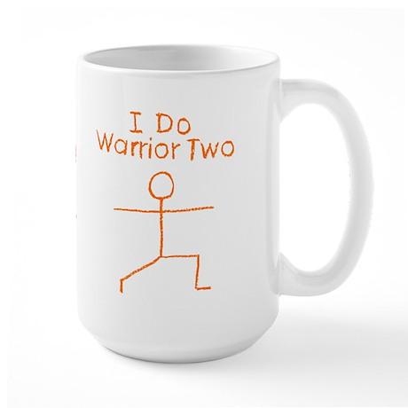 Orange Warrior Two Large Mug