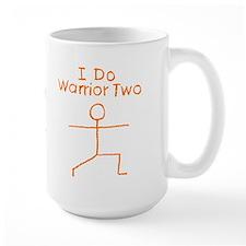 Orange Warrior Two Mug