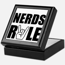 Nerds Rule Keepsake Box
