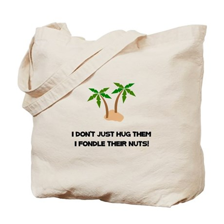 Tree Hug Nuts Tote Bag