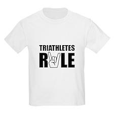Triathletes Rule T-Shirt
