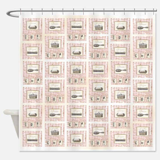 Unique Barber shop Shower Curtain