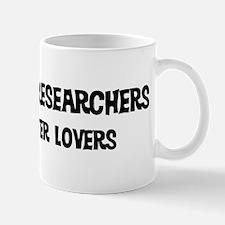 Marketing Researchers: Better Mug