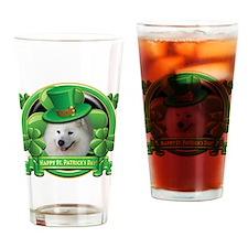 Happy St. Patrick's Day Samoy Drinking Glass