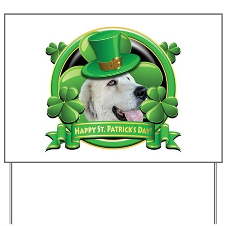 Happy St. Patrick's Day Great Yard Sign