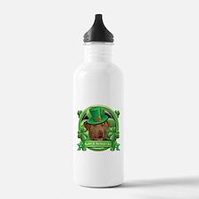 Happy St. Patrick's Day Chesa Sports Water Bottle