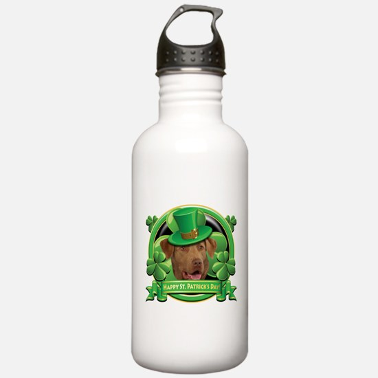 Happy St. Patrick's Day Chesa Sports Water Bottle