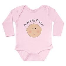 Future ER Doctor Baby Long Sleeve Infant Bodysuit