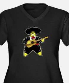 Mariachi Rock A Bye Star Women's Plus Size V-Neck