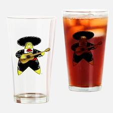 Mariachi Rock A Bye Star Drinking Glass