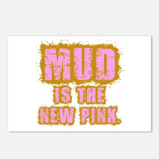 Mud, the new pink Postcards (Package of 8)