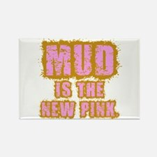 Mud, the new pink Rectangle Magnet