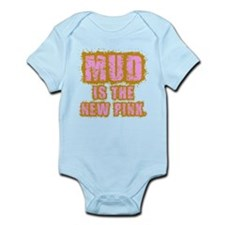 Mud, the new pink Infant Bodysuit