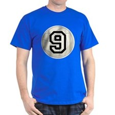 Volleyball Player Number 9 T-Shirt