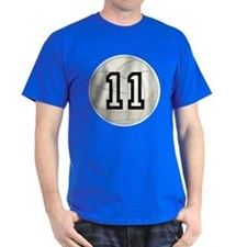 Volleyball Player Number 11 T-Shirt