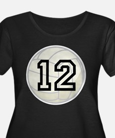 Volleyball Player Number 12 T