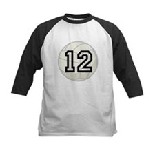 Volleyball Player Number 12 Tee