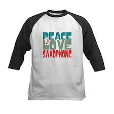 Peace Love Saxophone Tee